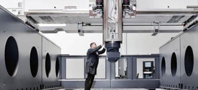 Gantry type milling machine