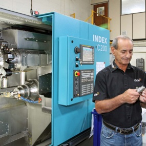 Index C200 turn-milling centre
