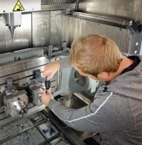 Hermle 5-axis machining