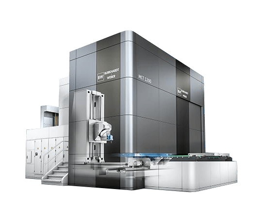 Burkhardt + Weber MCT machine