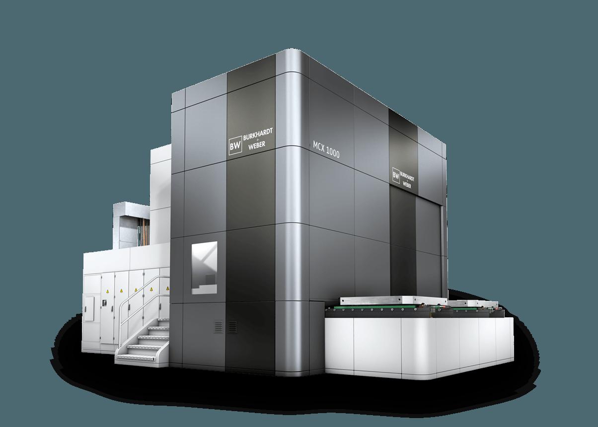 Burkhardt + Weber MCX machine