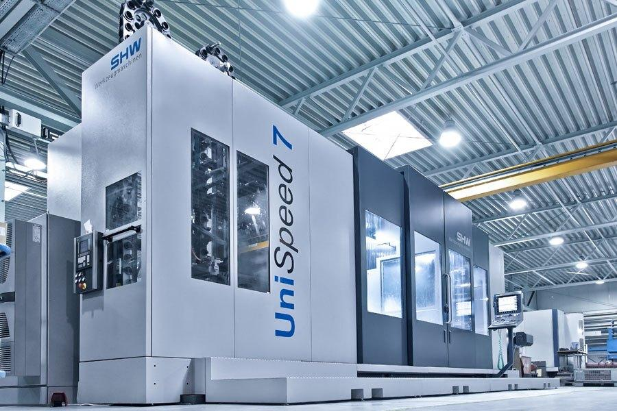 Unispeed 6000 milling machinery