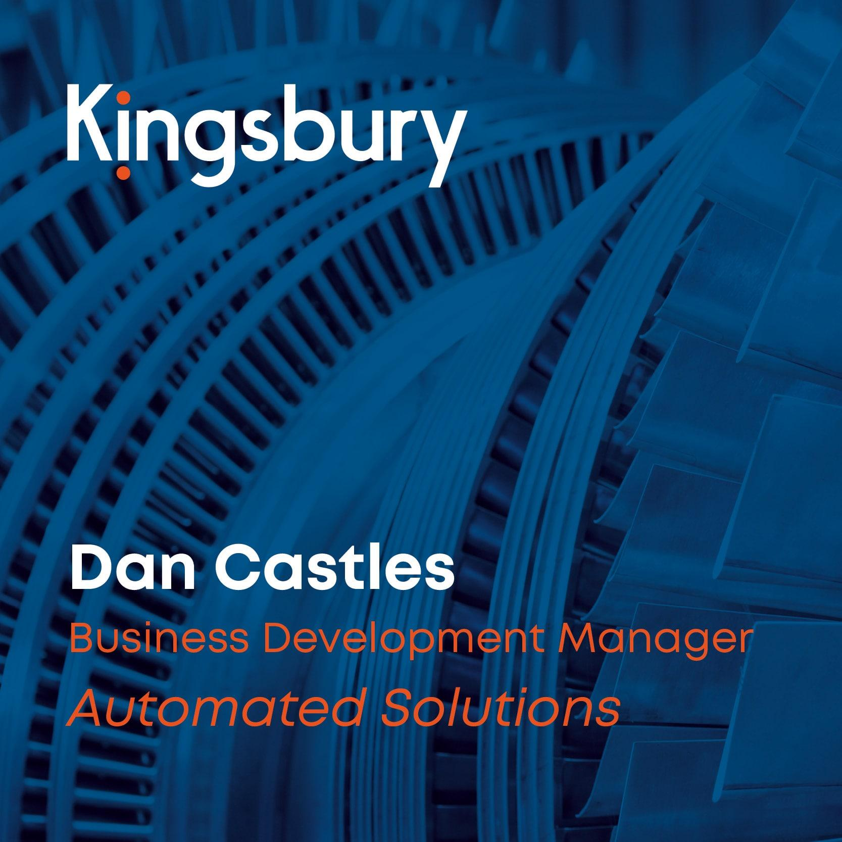Dan Castles business development manager at Automated Solutions