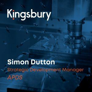 Simon Dutton strategic development manager at APDS