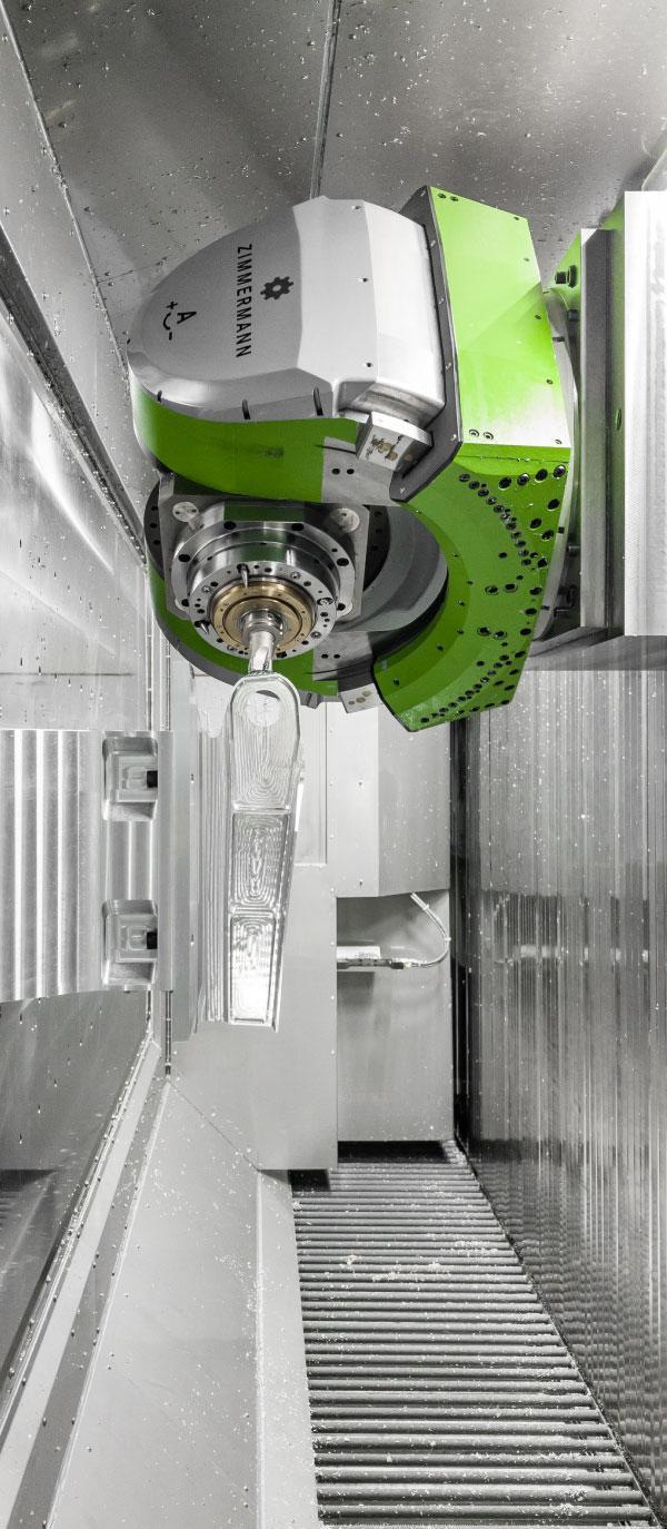 Zimmerman 5-axis cnc machine