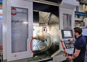Hermle milling machine