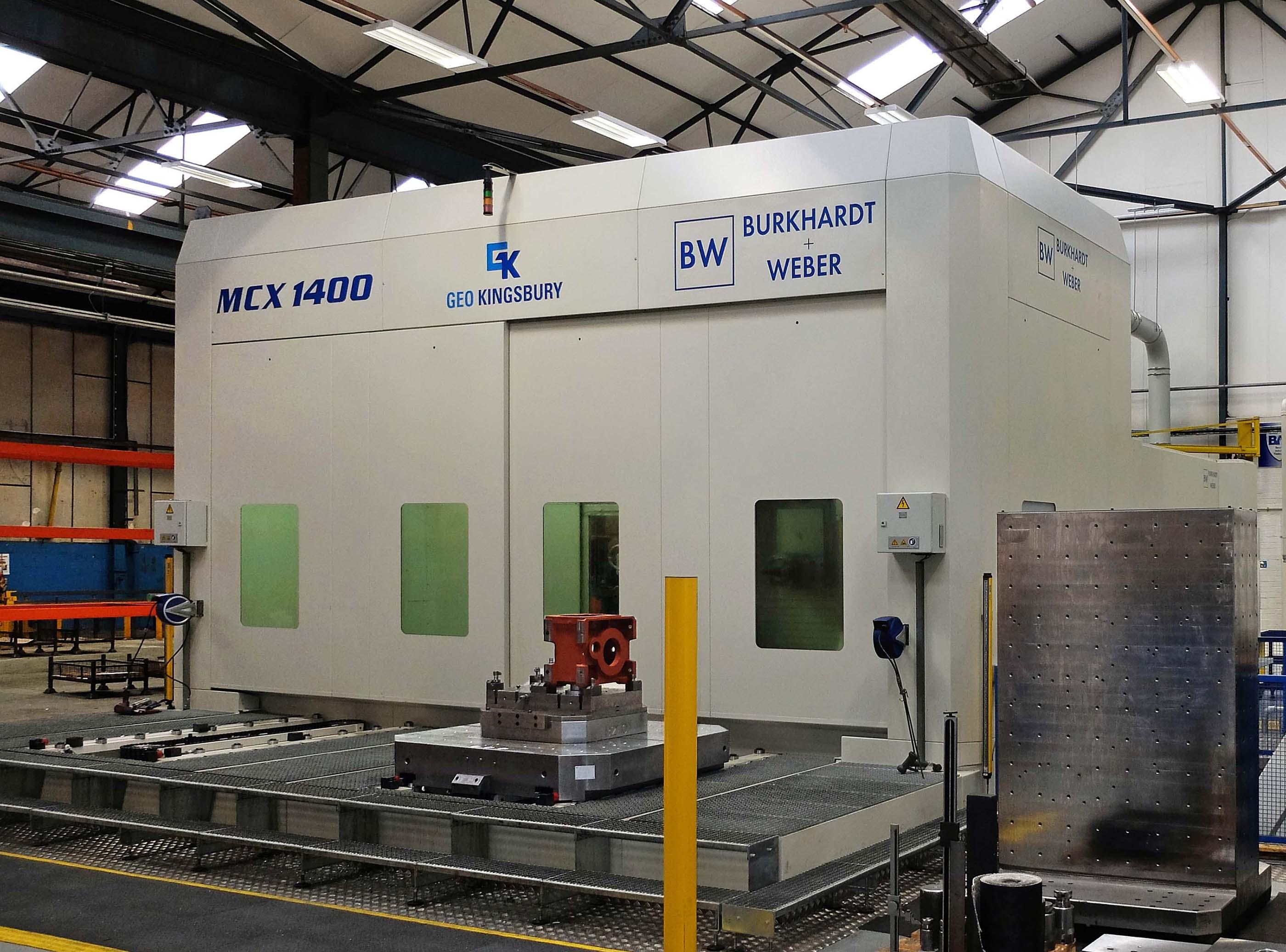Burkhardt & Weber MCX1400