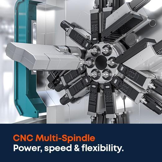 CNC multi-spindle