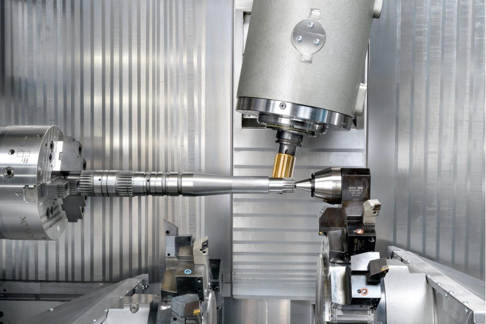 spindle machining