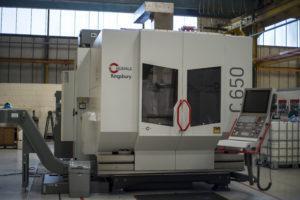Hermle C650 milling machine