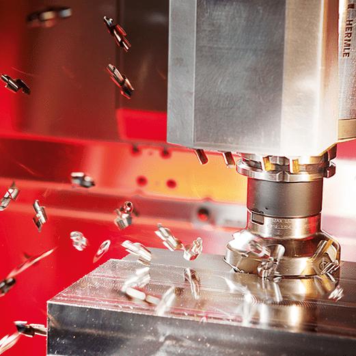 milling a titanium workpiece