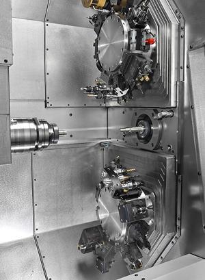 Traub TNL - Machining parts at Martin Aerospace