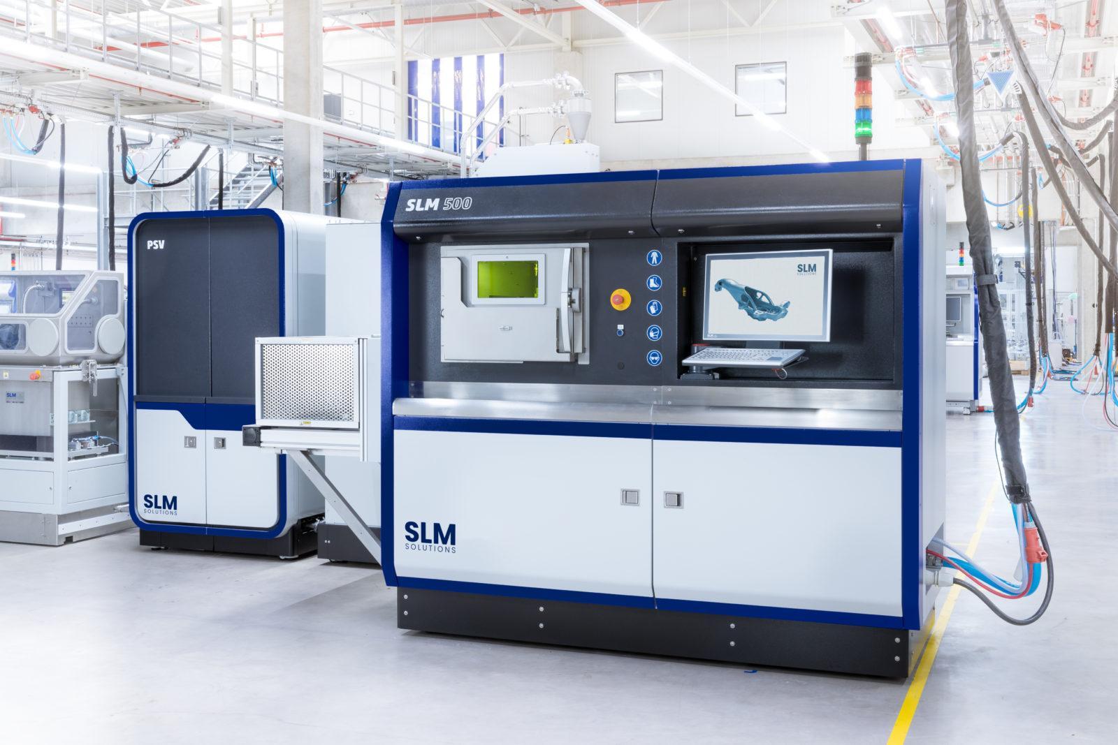 SLM 500 machine